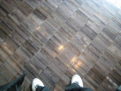 My new bamboo flooring