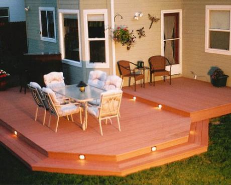 Aunt's deck