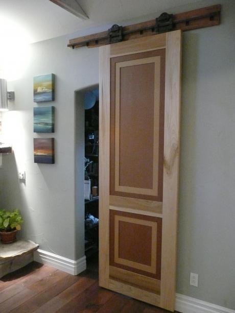 """Rustic Modern """"Barn"""" door"""