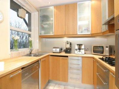 Rental house kitchen